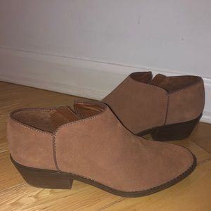 Lucky Brand Faithly Suede Boot in Toffee - 7M